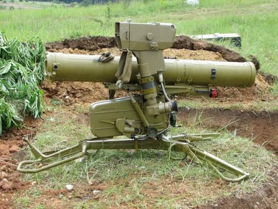 Террористы обстреляли позиции украинских военных из ПТУРов