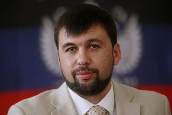 Главарь оевиков «ДНР» Пушилин признал введение войск России в Украину