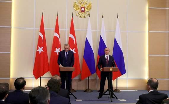 Путин и Эрдоган провели переговоры: о чем они договорились