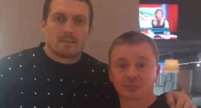 «Саня, удачи тебе»: Усик вляпался в новый скандал из-за видео в поддержку Поветкина