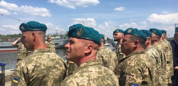 Украинские морпехи проведут масштабные учения
