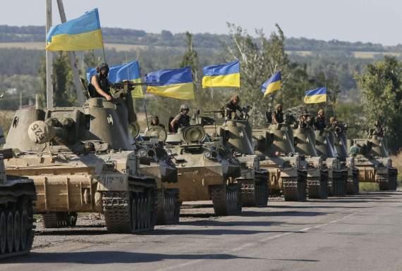 Начались всеукраинские военные учения «Козацька воля — 2018»