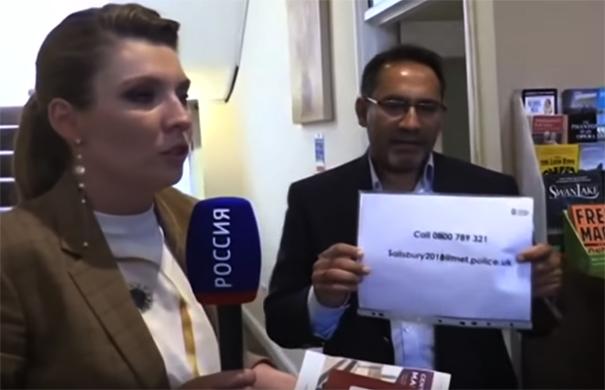 «За российский паспорт»: пропагандистку российского ТВ выгнали из гостиницы в Британии