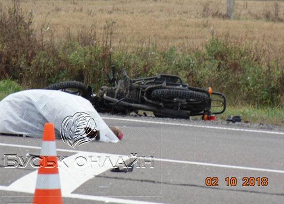 На Закарпатье в результате аварии погиб мотоциклист. ФОТО
