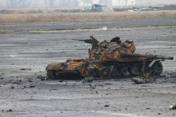 ВСУ прямым попаданием уничтожили САУ боевиков
