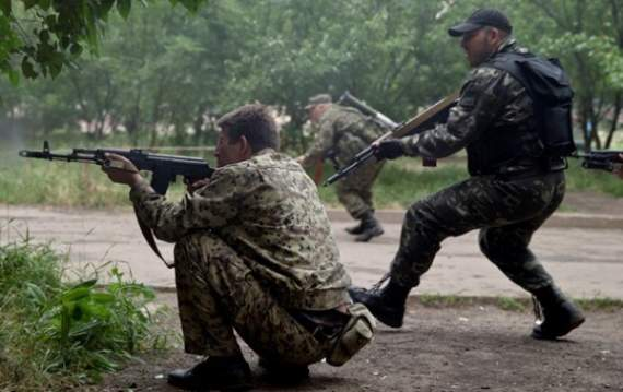 Боевики вечером атаковали украинские позиции в районе Донецка