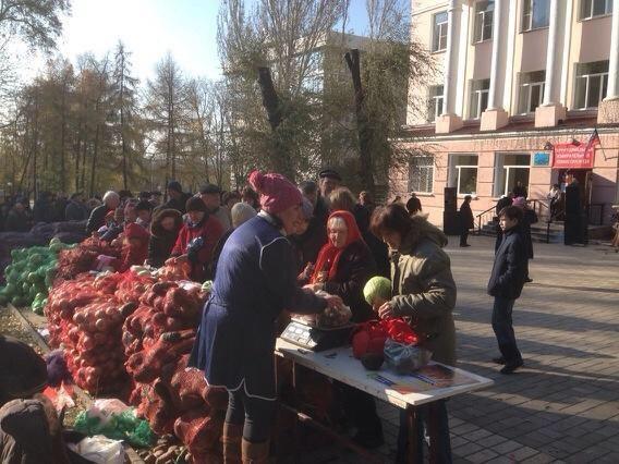 На оккупированном Донбассе взлетели цены на продукты