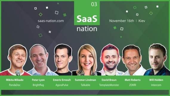 SaaS Nation'03: в Киеве пройдет очередная SaaS-конференция