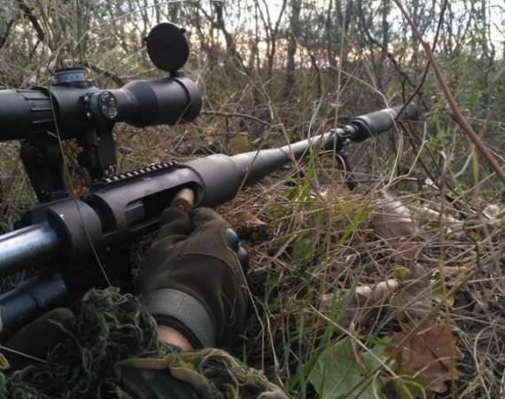 В районе Донецка идут ближние бои