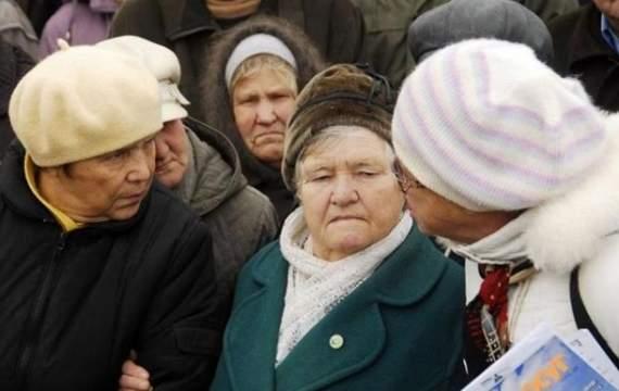 Оккупанты запугивают пенсионеров на Донбассе