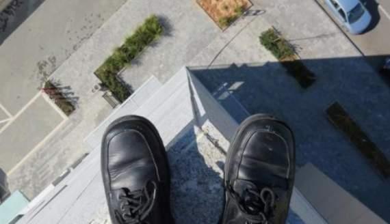 В Черкассах студент покончил с собой. ВИДЕО