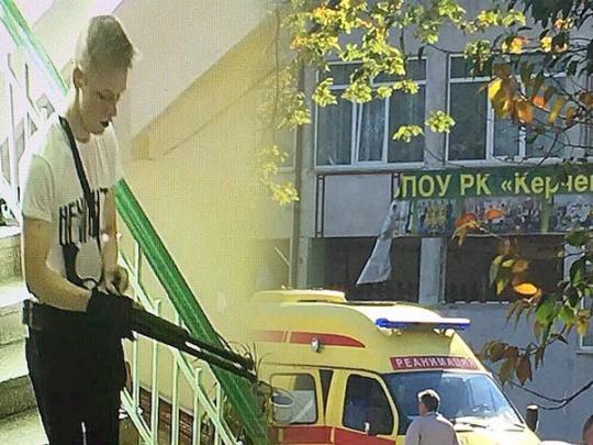 """Оккупанты усиленно ищут """"связь"""" керченского стрелка с Правым сектором"""