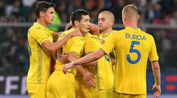 Украина досрочно вышла в элиту европейского футбола