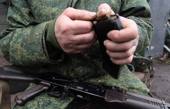 Террористы атаковали украинские позиции в районе Донецка