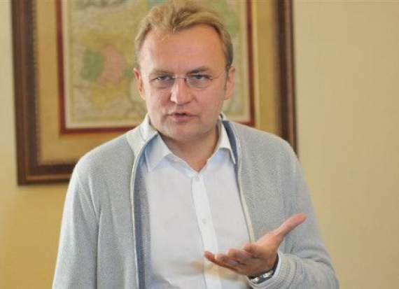 Мэр Львова Садовый заявил, что идет на выборы президента