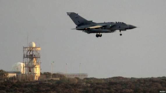 Британские истребители были подняты по тревоге для перехвата самолетов ВВС РФ