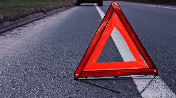 Во Львове автомобиль на остановке сбил двух женщин и слетел в кювет: есть жертвы