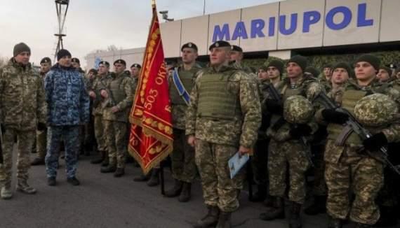 Батальон морской пехоты получил место постоянной дислокации в Мариуполе