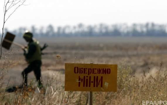 На Донбассе правоохранителям сдался водитель саперной группы боевиков