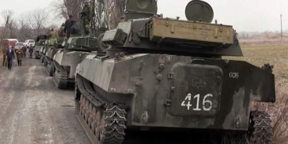 """""""Готовятся к атаке"""": боевики перебрасывают технику к Мариуполю"""