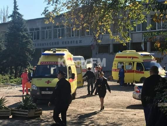 Теракт: в керченском техникуме пытались захватить заложников и взорвали бомбу