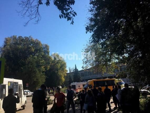 В оккупированной Керчи произошел взрыв, десять человек погибло