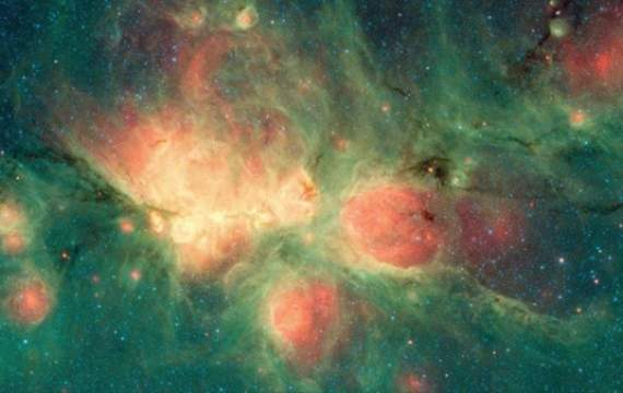 NASA показало фото туманности Кошачьей лапы