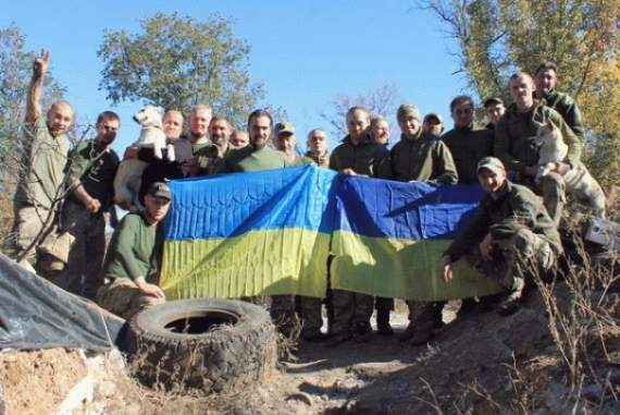 Батальон «Айдар» освободил новые территории и ушел на ротацию. ФОТО