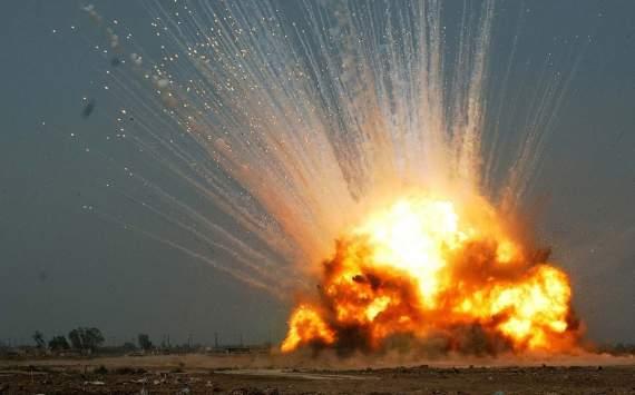 В сети появилось видео уничтожения ДОТа боевиков