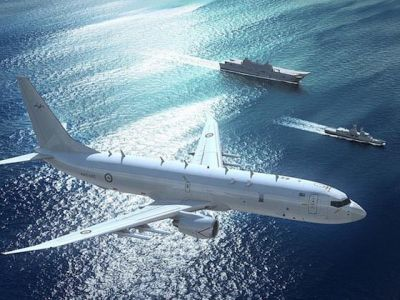 Американские самолеты провели разведку возле побережья Крыма