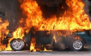 На Донбассе взорвался грузовик
