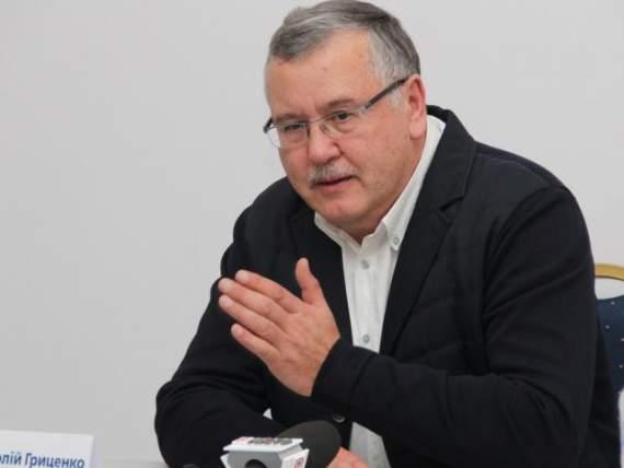 Кандидат в президенты Анатолий Гриценко летал в Москву