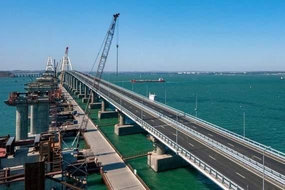 Украинское предприятие помогало оккупантам строить Крымский мост