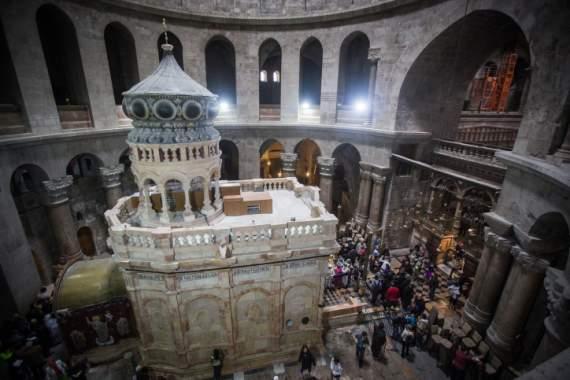 Гундяев угрожает Иерусалимскому патриархату