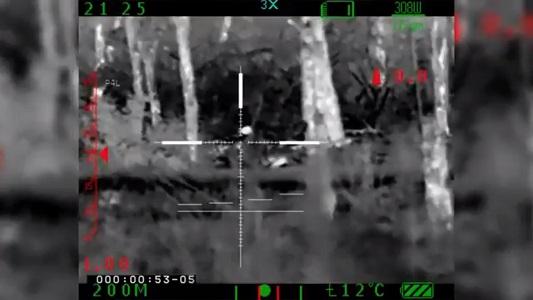 Появилось видео ликвидации российского снайпера на Донбассе