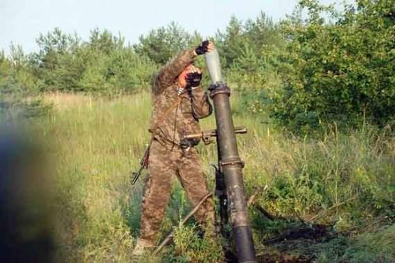 Боевики атаковали украинские позиции в районе Новолуганского