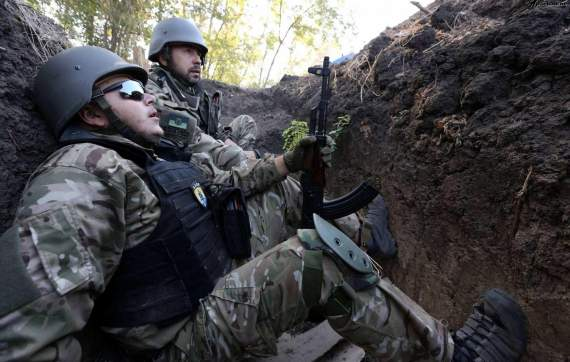 Боевики атаковали украинские позиции в районе Широкино