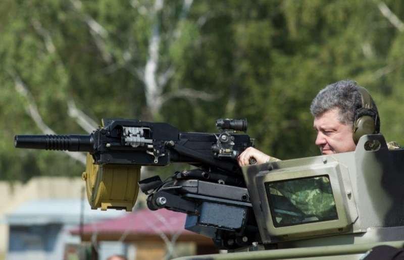 Порошенко приказал стрелять на Донбассе по оккупантам из всех видов вооружений