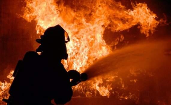 Во львовской области дотла сгорела гостиница. ВИДЕО