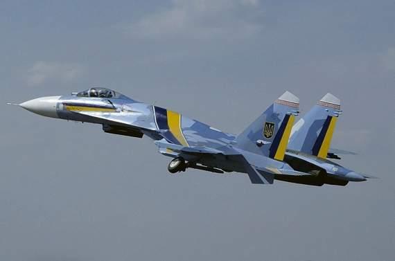 На совместных учениях с НАТО разбился украинский самолет Су-27