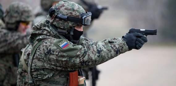 Величия РФ: Два российских спецназовца утонуло в луже(ВИДЕО)
