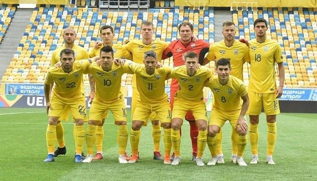 Календарь матчей сборной Украины в отборе на Евро-2020