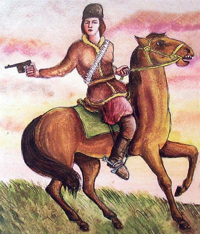 Чому майже ніхто не знає про грізну козачку-воїна, поряд з якою блякне слава Жанни д'Арк. Олександра Соколовська – отаман Маруся