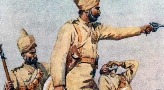Большевики против индийцев вАшхабаде