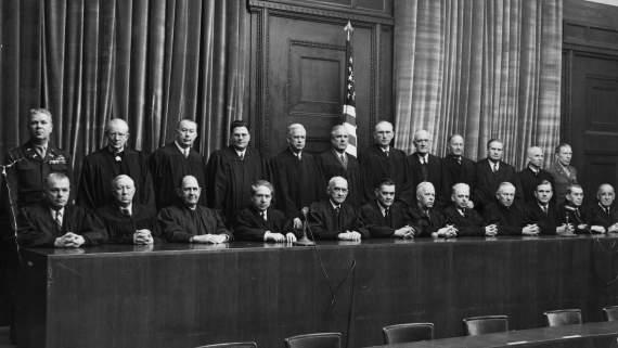 Самые скандальные оправдания на Нюрнбергском процессе