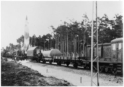 Ракетные поезда Гитлера