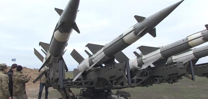 Небо реве: з'явилося відео стрільб ЗСУ поблизу Криму