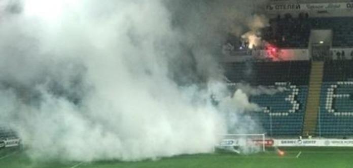 Під час футбольного матчу на стадіоні в Одесі прогримів вибух