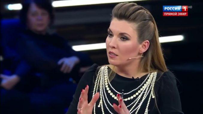 Пропагандистка Скабеева пугает россиян военным положением в Украине: «В украинских магазинах закончилась соль»
