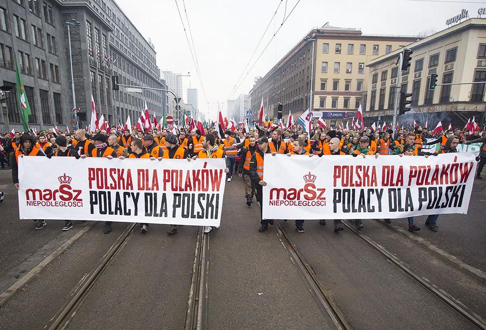 В Польше утверждают, что не пустили в страну «неофашистов и бандеровцев»